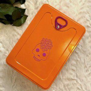Amika Orange Tin Can Storage Box